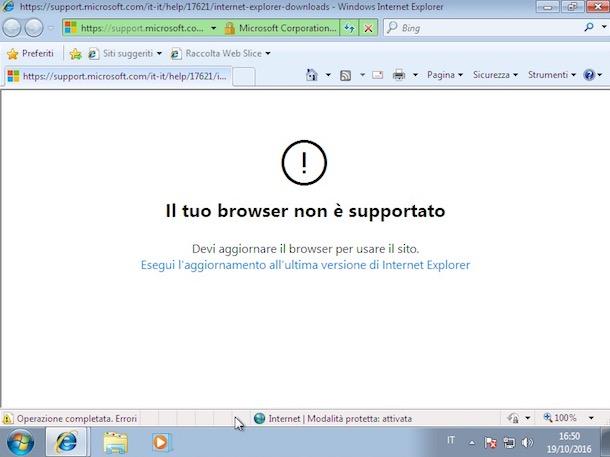 aggiornamento Internet Explorer 1 - Aggiornamento Internet Explorer, come farlo?