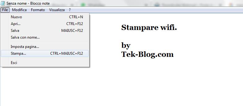 stampare wifi - Stampare wifi, come fare?