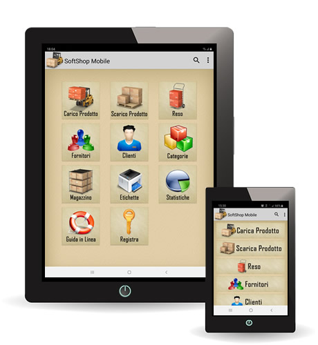 gestione magazzino android - Gestione magazzino tramite Android con Softshop