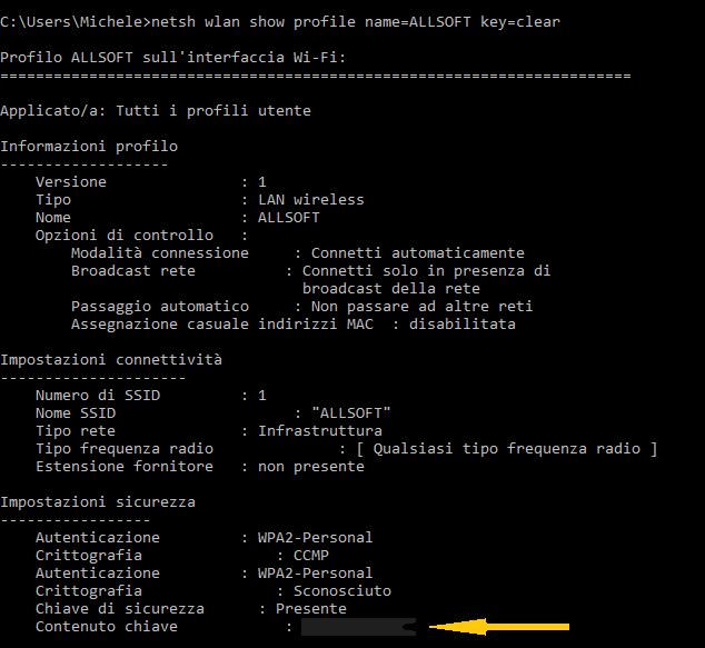trovare password wifi 01 0217 - (wife surfer - wifi surfer) Trovare la password del wifi