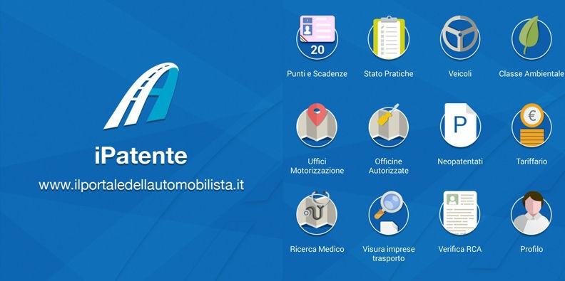 il portale dellautomobilista - Il portale dell'automobilista   nuova applicazione iPatente