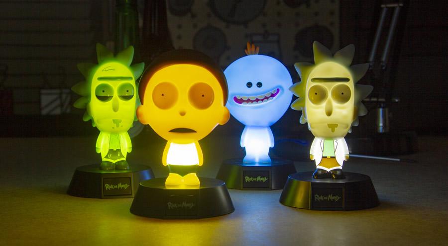 1 icon light rick and morty - I gadget di Rick and Morty da regalare ai fan