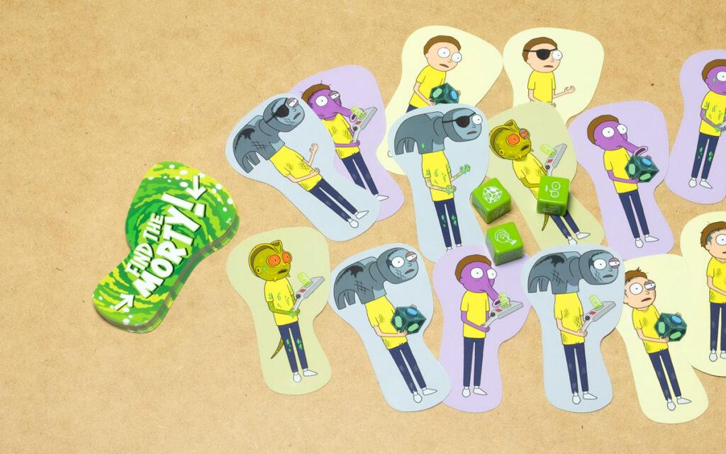 5 gioco di carte find the morty 1024x641 - I gadget di Rick and Morty da regalare ai fan